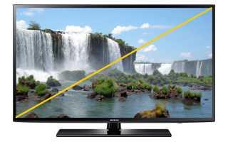 Как измерить экран телевизора