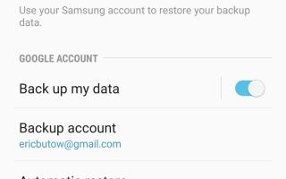 Как сбросить настройки устройства Samsung