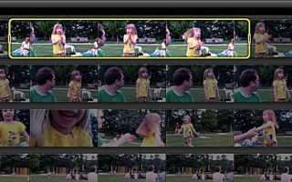 Начать редактирование проекта iMovie