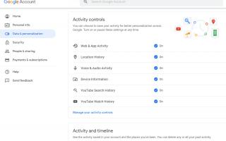 Как остановить Google от отслеживания ваших поисков