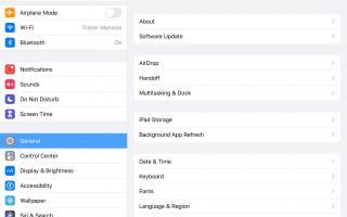 Как обновить до iOS 12