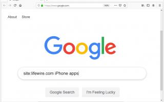 Как ограничить поиск Google конкретным доменом