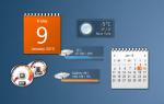 Настольные гаджеты для Windows 10
