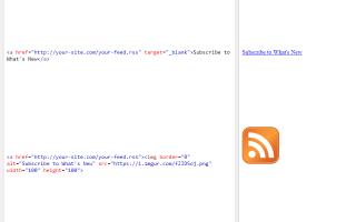 Как добавить RSS-канал на веб-страницу
