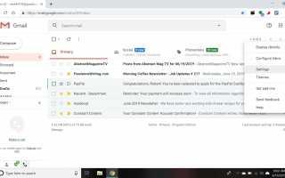 Как получить новые почтовые уведомления на рабочем столе для Gmail