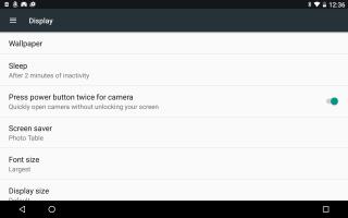 Как настроить Android через настройки