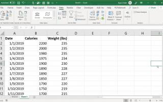 Как запустить регрессию в Excel