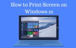 Как сделать снимок экрана в Windows 10 — (6 способов)