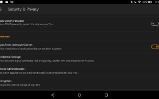 Как установить Google Play на Kindle Fire
