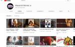 Как смотреть потоковые фильмы на YouTube