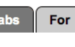 Как создать вкладку с помощью CSS и без изображений