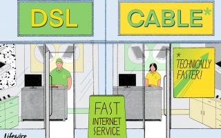 DSL: цифровая абонентская линия Интернет-сервис