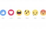 Как использовать реакции Facebook