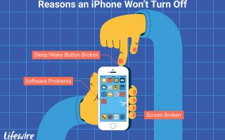 Вот как исправить iPhone, который не выключается