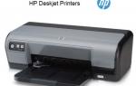 Исправление проблем с драйвером принтера HP Deskjet для Windows 10
