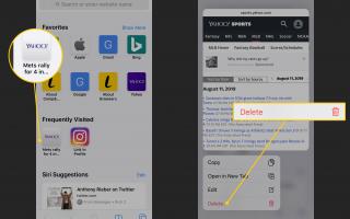 Как удалить часто посещаемых на вашем iPhone
