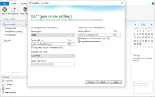 Как получить Outlook Mail или Hotmail в Windows Live Mail
