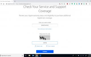 Как проверить статус гарантии на iPad