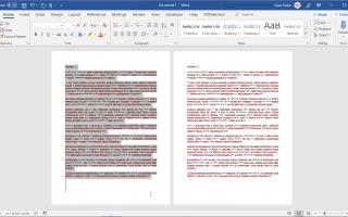 Как дублировать страницу в Word