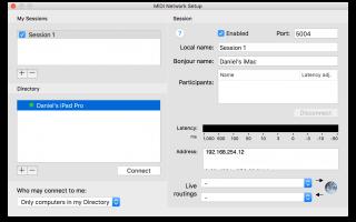 Как использовать iPad в качестве беспроводного MIDI-контроллера (Mac / Windows)