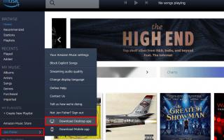Как загрузить музыку в Amazon MP3 Cloud Player