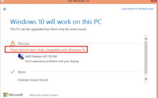 Как исправить отображение, несовместимое с Windows 10
