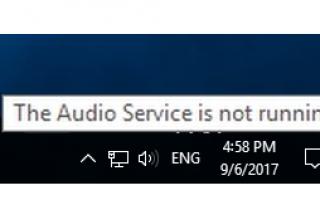 Легко исправить Сервис Audio не работает в Windows 10