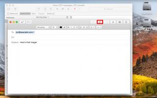 Скриншоты Mac: как взять и отправить по электронной почте