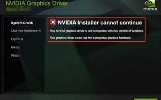 Как исправить драйверы GeForce GTX 1080, несовместимые с Windows 10