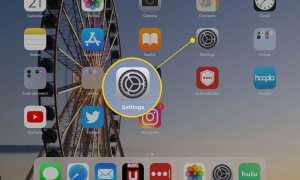 Как отключить функцию масштабирования iPad