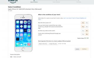 Где продать свой подержанный iPhone или iPod