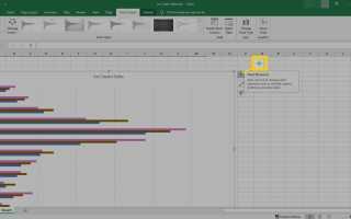 Как добавить панели ошибок в Excel