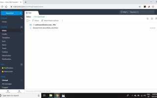 Как включить IMAP в Zoho Mail