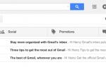 Как Gmail помечает почту как важную для приоритетного почтового ящика