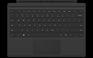 Поверхностная клавиатура не работает