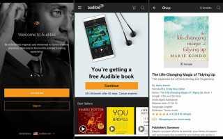 Как слушать аудиокниги на Android