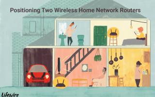 Как соединить два маршрутизатора в домашней сети