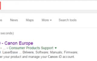 Canon Printer Drivers Free Скачать и установить для Windows 10