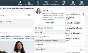 Как отменить премиум-подписку LinkedIn