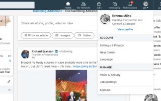 Как удалить свой аккаунт в LinkedIn
