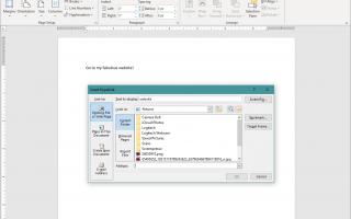 Работа со ссылками и HTML в Microsoft Word