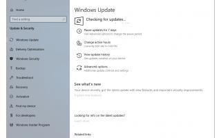 Как проверить и установить обновления Windows