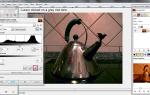 Как откорректировать цветовой баланс белого с помощью GIMP