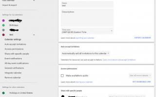 Как создать новый календарь Google