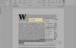 Работа со скрытым текстом в документах Word