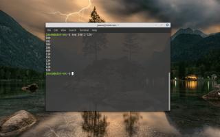 Пример использования команды Linux Seq
