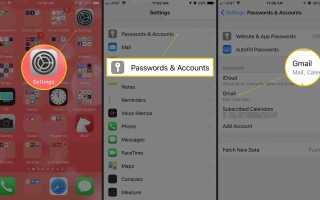 Как установить Swiping для удаления или архивирования Gmail на iPhone