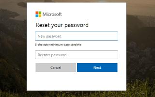Как сбросить забытый пароль Windows Live Hotmail