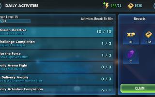 Как повысить уровень быстрее в Star Wars: Galaxy of Heroes