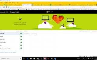 Как проверить состояние сервиса Outlook.com на наличие проблем